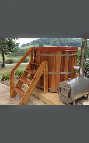 Wood Fried Hot Tubs