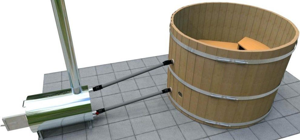 External Wood Heater Models for Pools and Tubs