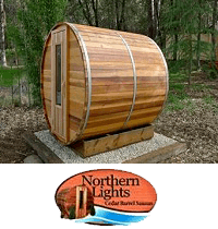 Wood Fired Barrel Saunas