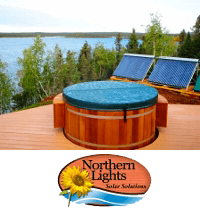 Solar Heater Hot Tubs and Pools