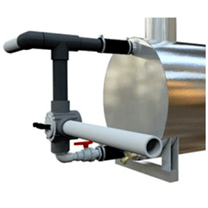 Forced Circulation Pump for Wood Pool Heater