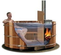 woodfired hottub